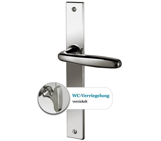 Alioth WC Hochglanz vernickelt
